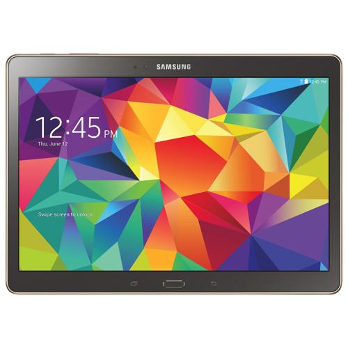 "Tablette Samsung Galaxy Tab S 10,5"" - 16 Go - Titanium bronze (Avec ODR de 70€)"
