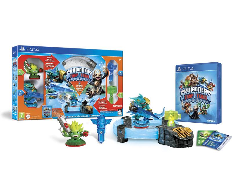 Skylanders Trap Team - Pack de démarrage sur PS3 / XBOX 360 / Wii U / PS4 / XBOX One