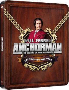 Blu-ray Steelbook Anchorman - La Légende De Ron Burgundy