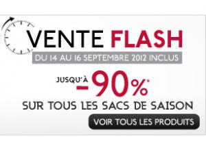 Vente Flash : -90% sur la maroquinerie de l'été