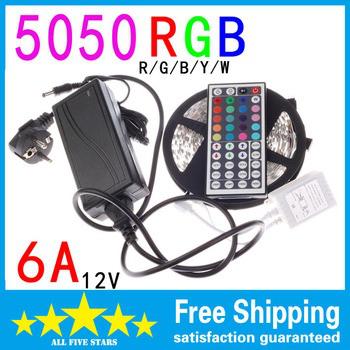 Ruban flexible 300 LED 5050 RGB Light 5M