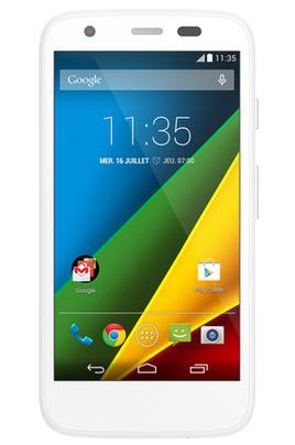 Smartphone Motorola G 4G Blanc (ODR 30€)