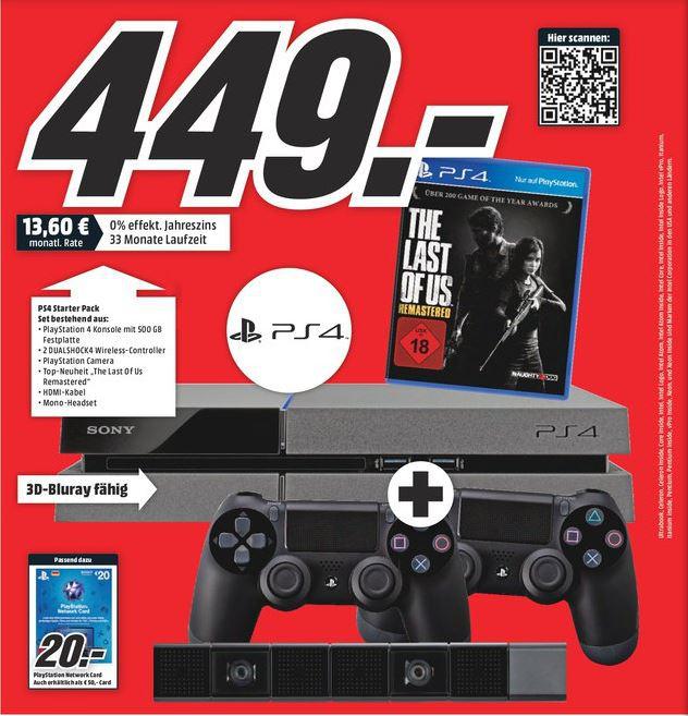 Console PS4 + 2 Manettes + Caméra + Jeu The Last Of us