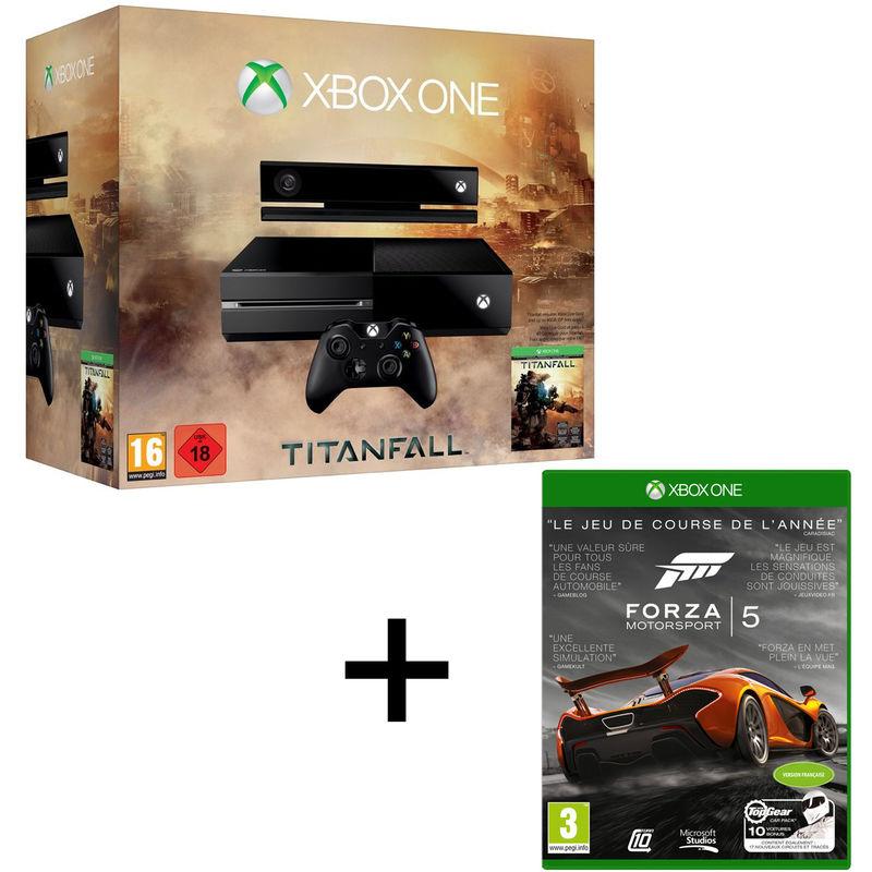 Pack Xbox One + Kinect + Forza 5 + Titanfall - En ligne et en magasin