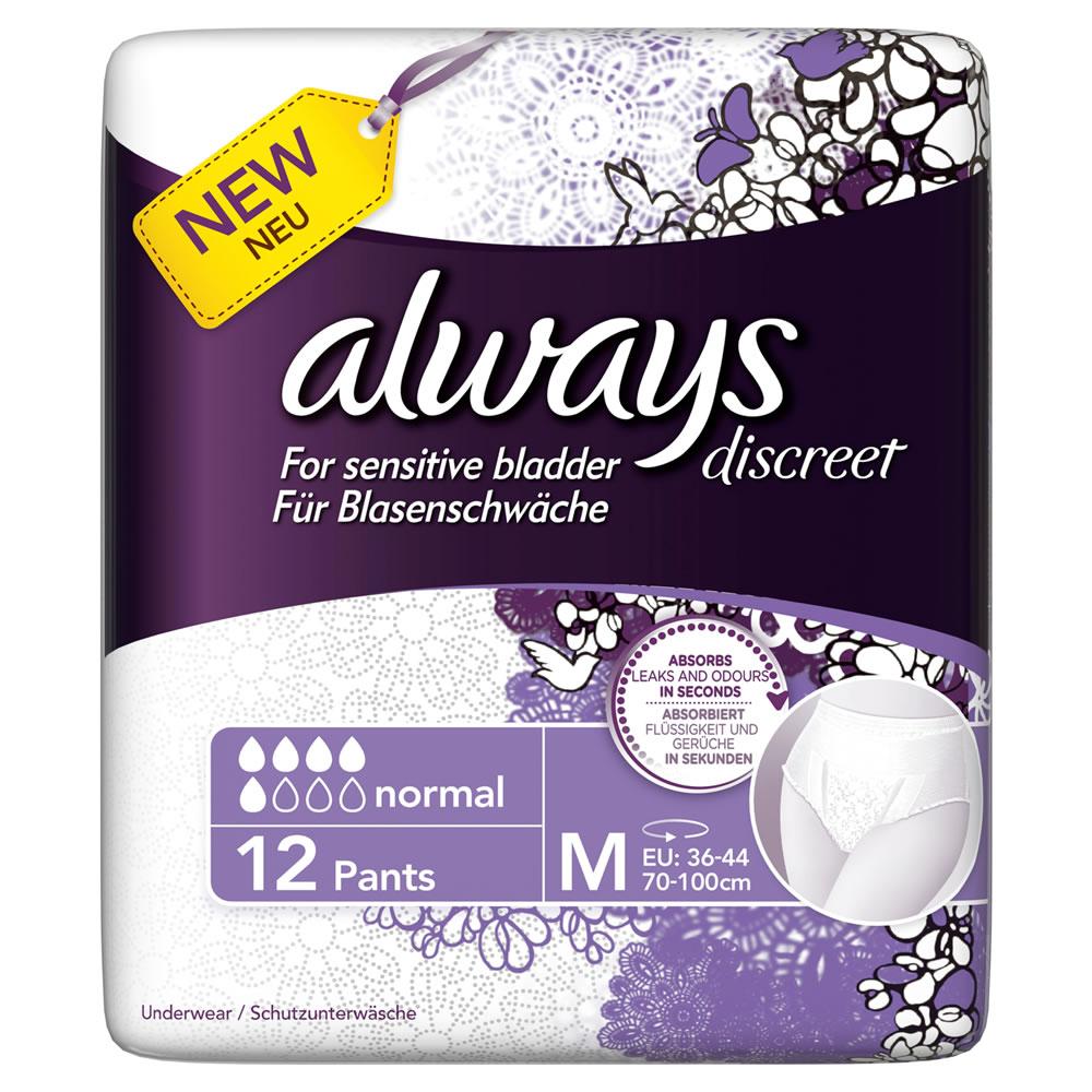 Pack Always Discreet gratuit (+ gain de 0.55€) au lieu de 4.3€
