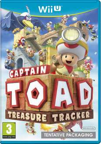 Pré-commande : Captain Toad Treasure Tracker sur Wii U