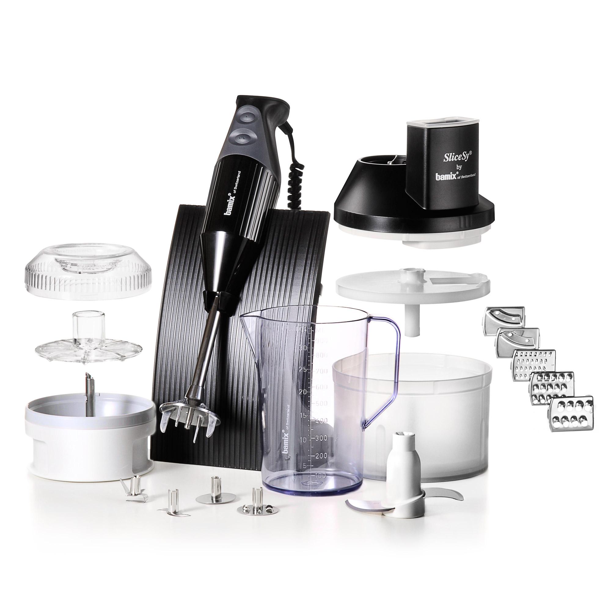 Coffret Box Mixeur Plongeant Bamix MX105025 Noir