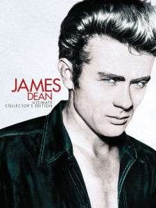 Coffret blu ray James Dean - Ultimate Collector's Edition