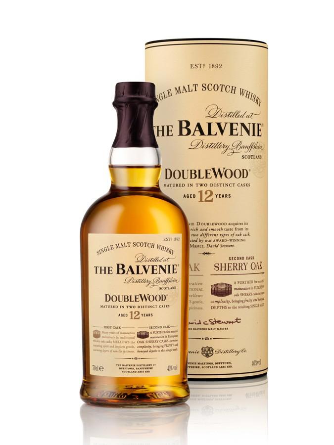 Optimisations Carrefour - Ex: Scotch whisky single malt The Balvenie Double Wood 12 ans d'âge (70cl)