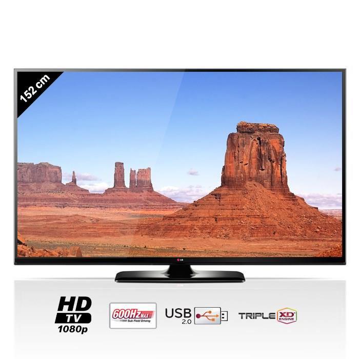 """TV Plasma 60"""" LG 60PB5600 - Full HD"""