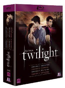 Coffret Blu-Ray Twilight - Chapitre 1 à 4 [Édition Limitée]