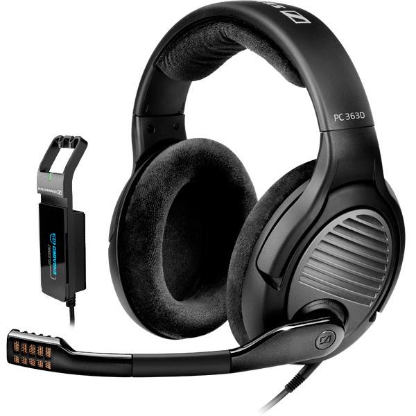 Vente privée Sennheiser - Ex : Casque Sennheiser Momentum On-Ear à 75€, Casque-micro 7.1 Sennheiser PC 363D
