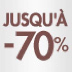 Soldes -70% sur les vêtements