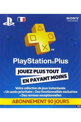 Carte Sony Playstation Plus Abonnement 3 mois