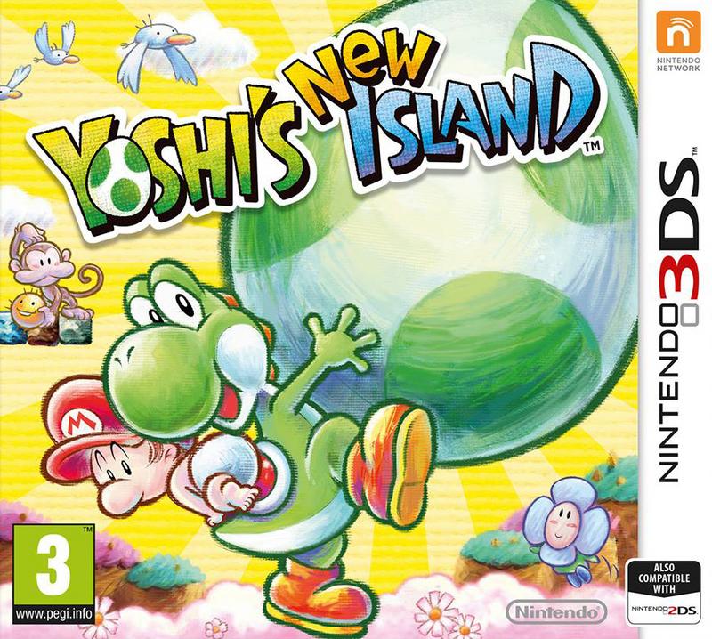 Sélection de jeux 3DS en promotion (avec 4€ sur la carte de fidélité) : Yoshi's New Island, Donkey Kong Country Returns 3D