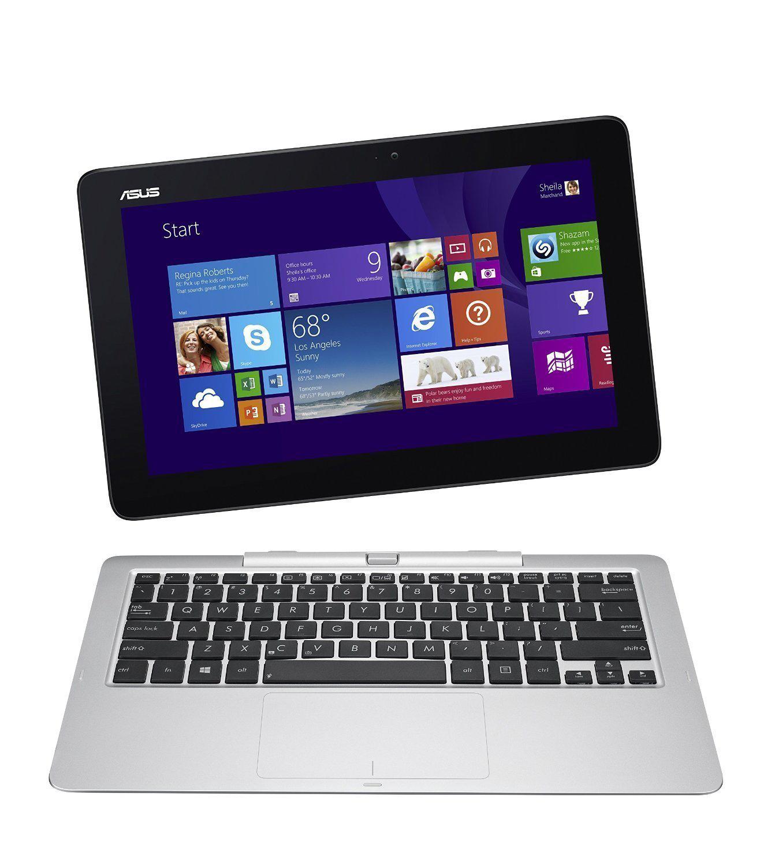 """PC Hybride 11.6"""" Asus Transformer Book T200 (Intel Atom, 2 Go RAM, SSD 32 Go, Windows 8.1) + Carte cadeau de 50€"""
