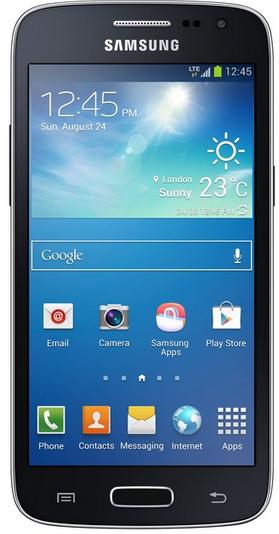 """Smartphone 4,5"""" Samsung Galaxy Core (4G) Noir (Avec ODR 30€)"""