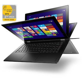 """PC portable 13.3"""" Lenovo Yoga 2 - Core i7 4500U - Windows 8.1 - 4 Go RAM - SSD 256 Go"""