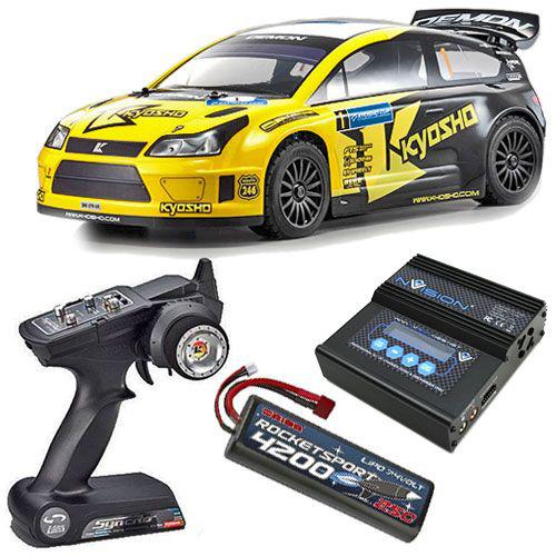 Pack voiture radiocommandé Kyosho eco DRX VE Demon 4WD 2.4GHZ