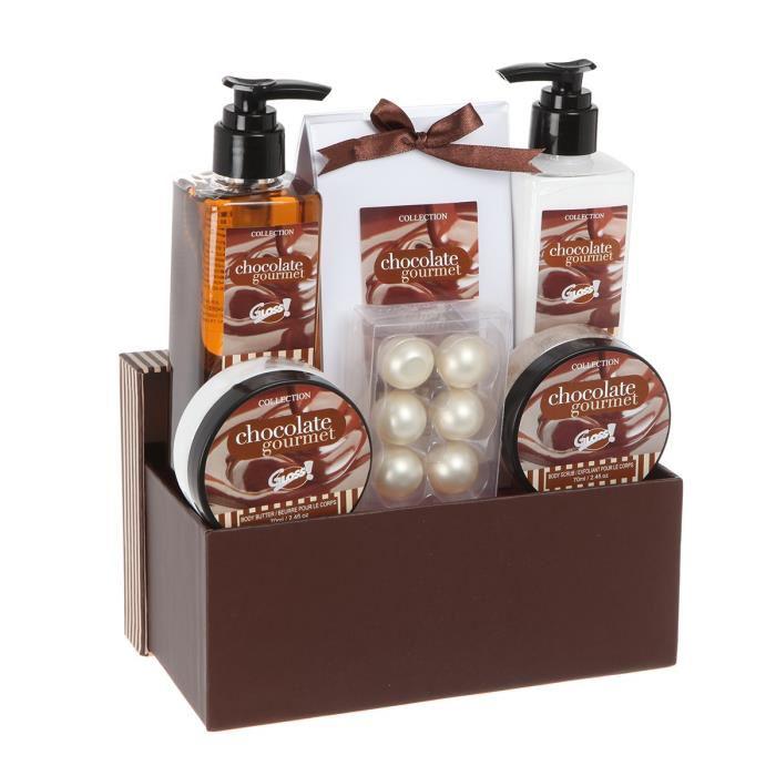 Coffret de Bain Chocolate Gourmet  6 Pièces