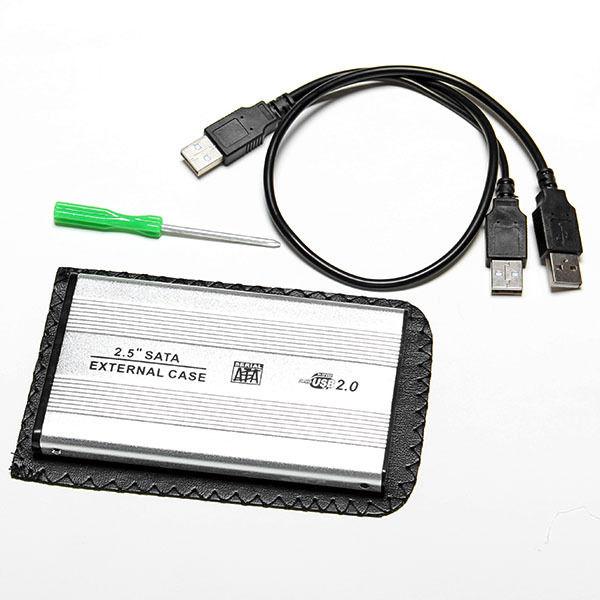 """Boitier 2.5"""" USB 2.0 pour disque dur externe"""