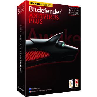 Logiciel Bitdefender Antivirus Plus 2014 (2015) 1 An / 1 Poste