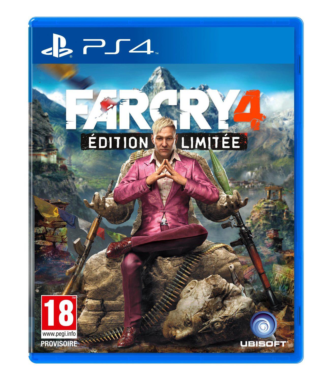 Précommande : Far Cry 4 Edition Limitée sur PS3 et Xbox 360 à 42.9€ et PS4 et Xbox One