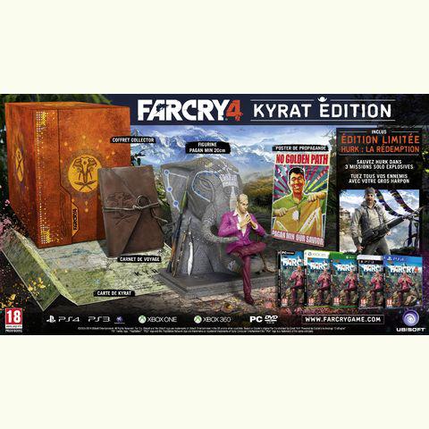 Far Cry 4 - Edition Collector Kyrat sur PS4, Xbox One