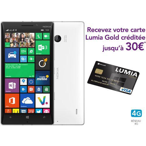 Smartphone Nokia Lumia 930 (+ 30€ offerts sur le Windows Phone Store)