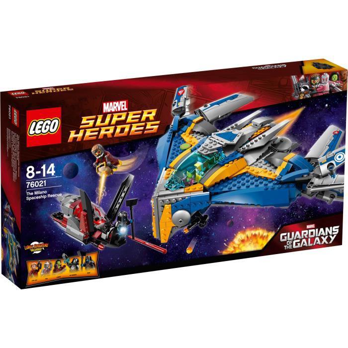 Lego Super Heroes Marvel - 76021 - Le Sauvetage Du Vaisseau Milano offre eclair