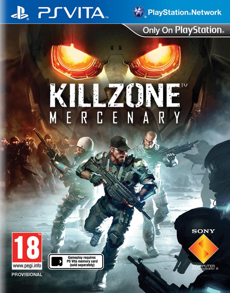 Jeu Ps Vita Killzone Mercenary