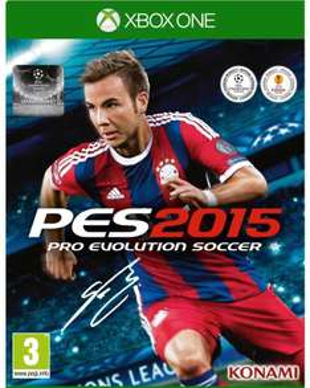 Jeu Xbox One Pro Evolution Soccer PES 2015