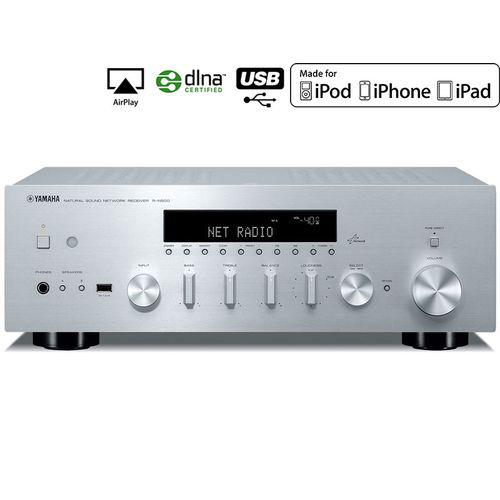 Amplificateur Stéréo Réseau Yamaha R-N500 - 2x80W - Airplay - DLNA - Radios internet (192kHz/24-bit)