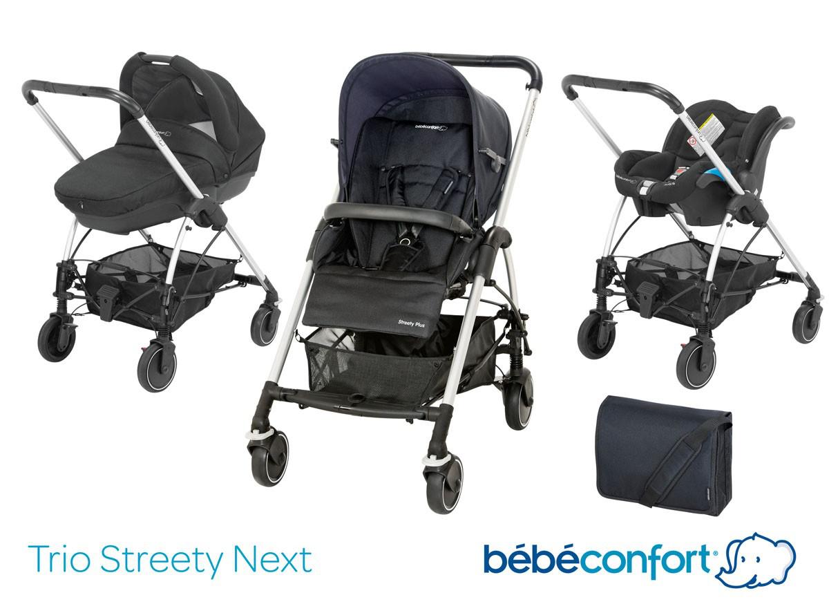 Poussette Bebe Confort Pack Streety Plus Bébé Confort Total Black 2014