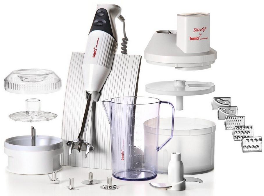 Coffret Mixeur Plongeant Bamix - Blanc