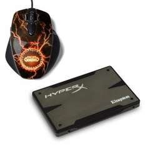 Pack SSD Kingston HyperX 3K Series 240 Go + Souris SteelSeries Legendary WOW