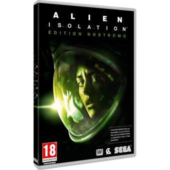Jeu Alien Isolation Edition Nostromo sur PC