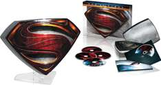 Combo Blu-Ray 3D + DVD Man of Steel -  Edition Ultimate Boîtier métal