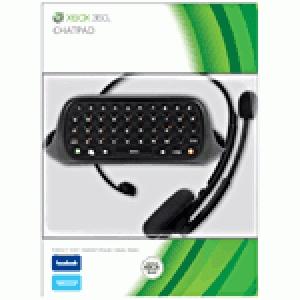 Chatpad + micro casque noir Microsoft pour Xbox 360