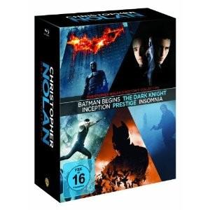 Collection Blu-ray Christopher Nolan : Le Prestige, Insomnia, Batman Begins, The Dark Knight, Inception