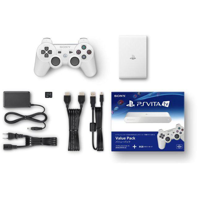 PlayStation Vita TV Value Pack : Module + Manette Dualshock 3 + Carte mémoire 8Go