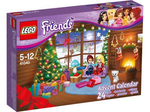 -50% sur les calendriers de l'Avent Lego Friends et City 2014, soit l'unité