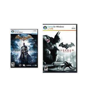 PC GAME - Batman Arkham Action : Arkham City + Arkham Asylum GOTY - Clé Steam