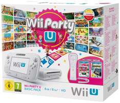 Pack Console Wii U 8Go + Wii Party U + Nintendoland + Wiimote