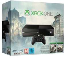 Pack Console Xbox One + Assassin's Creed Unity + Assassin's Creed Black Flag