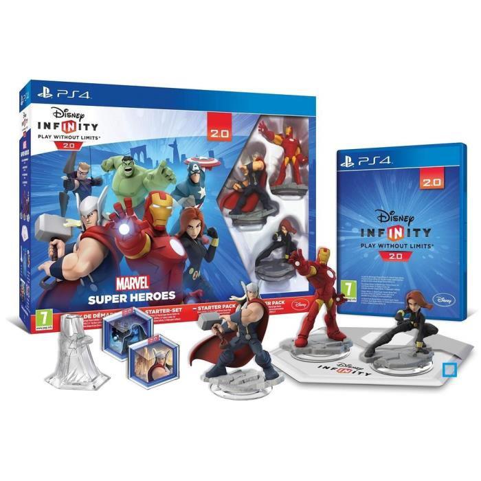 Le pack aventure Marvel Super Heroes (Ultimate Spider-Man ou Gardiens de la Galaxie) offert pour l'achat d'un pack Disney Infinity 2.0