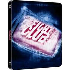 Blu-ray - coffret collector FIGHT CLUB - double play - Exclusive Steelbook - piste son DTS 5.1 FR