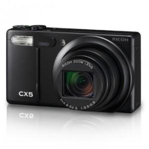 Appareil photo numérique Ricoh CX 5 - 10 Mpix - Argent