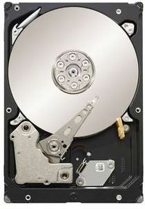 """Disque dur 3,5"""" Seagate ST2000DX001 2To + 8 Go NAND Sata III 6 Gb/s"""