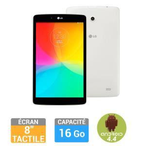 "Tablette LG G Pad 8"" V500 Wifi Blanche 16Go (avec ODR de 30€)"